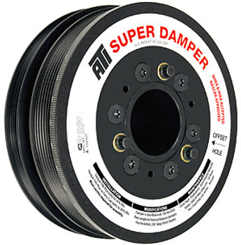 ATI Super Damper GM LS1 C5 Corvette Harmonic Balancer 6 & 4 Rib 917266
