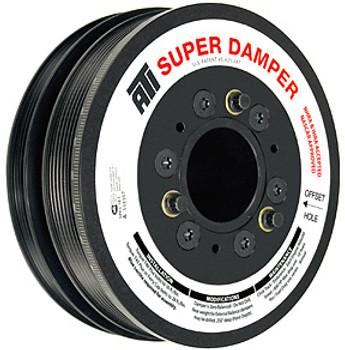 ATI Super Damper GM LS1 C5 Corvette Harmonic Balancer 6 & 4 Rib 917246