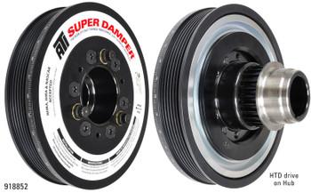 ATI Super Damper GM LS1/LS2/LS6 F-Body GTO Harmonic Balancer 10% UD 6 & 4 Rib 918855