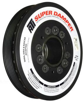 ATI Super Damper GM LS3/LS7 Corvette Harmonic Balancer 10% UD w/Dry Sump 8 Rib 918620UN