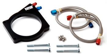 NOS GM LS2 4-Bolt 90MM Throttle Plate Kit Wet 13435NOS