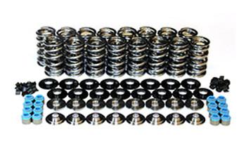 Manley NexTek GM LS Dual Valve Spring Kit 26361634KS - Tool Steel Retainers