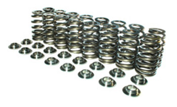 Manley NexTek GM LS Beehive Valve Spring Kit 26380638KS - Tool Steel Retainers
