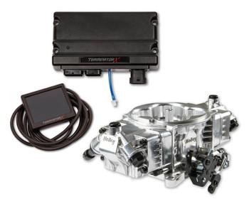 Holley Terminator Terminator X EFI GM LS 24x Shiny TBI Kit 550-1020