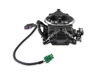 Holley Terminator X Max Stealth 4150 EFI GM LS 24x Black w/ Trans Control TBI Kit 550-1029