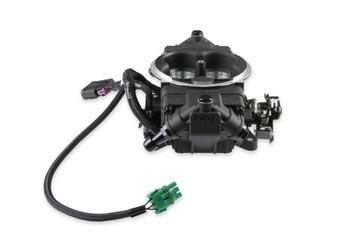 Holley Terminator X Max Stealth 4150 EFI GM LS 58x Black w/ Trans Control TBI Kit 550-1064