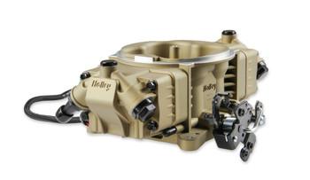 Holley Terminator X Max Stealth 4150 EFI GM LS 58x Gold w/ Trans Control TBI Kit 550-1065