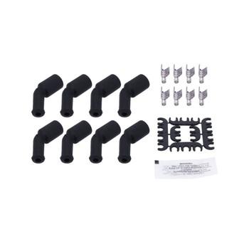 GM LS/LT Cut to Fit Spark Plug Wire Set - Black, Ceramic Boot 81025CE