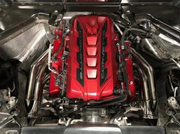 "Speed Engineering 1-3/4"" Universal Turbo Headers for LT2 2020-21 C8 Corvette 25-1065-1"