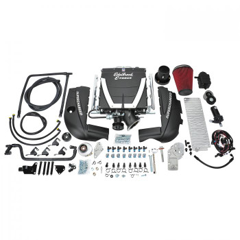 Edelbrock E-Force Gen VI TVS2300 1998-02 Camaro/GTO LS Swap Cathedral Port Universal Supercharger Kit w/o Tune 15450