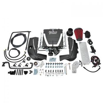 Edelbrock E-Force Gen VI TVS2300 LS Swap w/Truck Belt Offset Cathedral Port Universal Supercharger Kit w/o Tune 15461