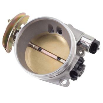 Edelbrock Victor LS Series Gen III-IV 90mm Throttle Body w/ IAC & TPS Satin 3864