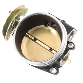 Edelbrock Victor LS Series Gen III-IV 90mm Throttle Body w/o IAC & TPS Black 386403