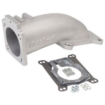 Edelbrock LS1/LS2 EFI Ultra Low Profile Throttle Body Intake Elbow Satin 3847