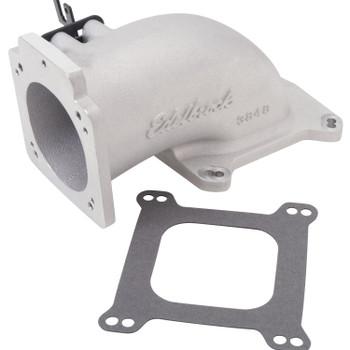 Edelbrock LS1/LS2 EFI Low Profile Throttle Body Intake Elbow Satin 3848