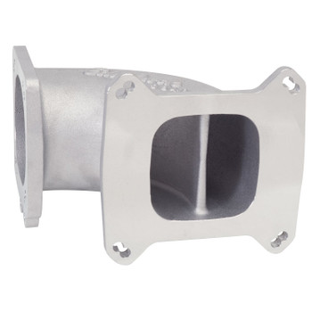 Edelbrock LS1/LS2 EFI High Flow Throttle Body Intake Elbow Satin 3849