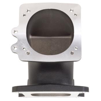 Edelbrock LS1/LS2 EFI High Flow Throttle Body Intake Elbow Black 38493