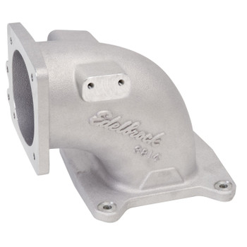 Edelbrock LS1/LS2 EFI High Flow Throttle Body Intake Elbow Satin 3814