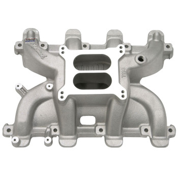 Edelbrock Performer RPM Small Block Chevy LS1 Dual Plane Cathedral Port Intake Manifold 7118