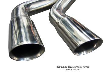 "Speed Engineering 3"" True Dual Rear Exit Exhaust X-Pipe/ Muffler Kit for 2007-18 Crew Cab Silverado/Sierra 25-1006+08+05"