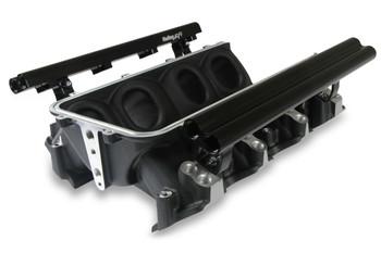 Holley Lo-Ram LS3 Dual Injector Intake Manifold Base 300-673BK