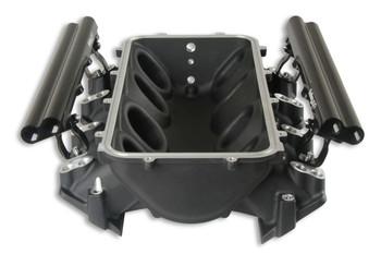 Holley EFI Lo-Ram LS3 Dual Injector Intake Manifold Base 300-671BK