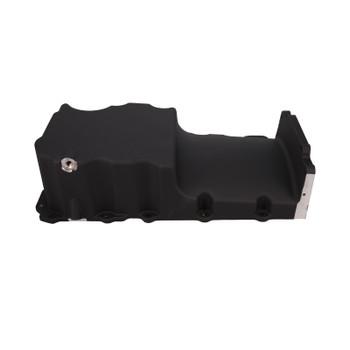 LSXceleration Low Profile Front Sump Black LS Oil Pan Kit 17-302-4B