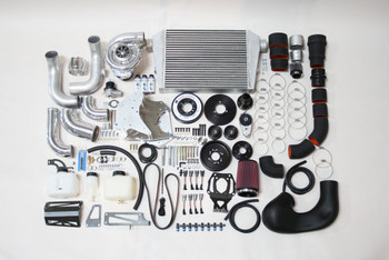 Supercharger Kit, 2010-2011 6.2L Camaro SS, V-3, Si-Trim, Satin Finish - Vortech Superchargers 4GE218-010L