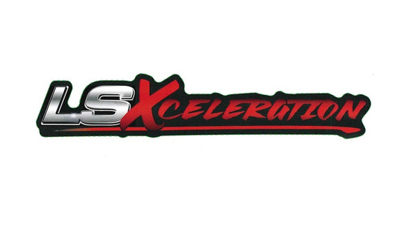 "LSXceleration Vinyl Decal 1.489"" x 7.790"""