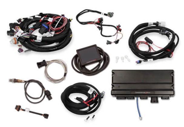 Holley Terminator X Max GM LS Standalone ECU & Wire Harness 550-916 - 24x/EV1/Trans Control