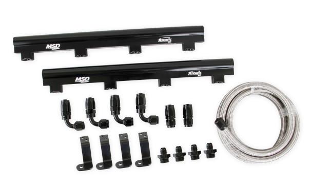 MSD Atomic EFI Billet Fuel Rail Kit 2723