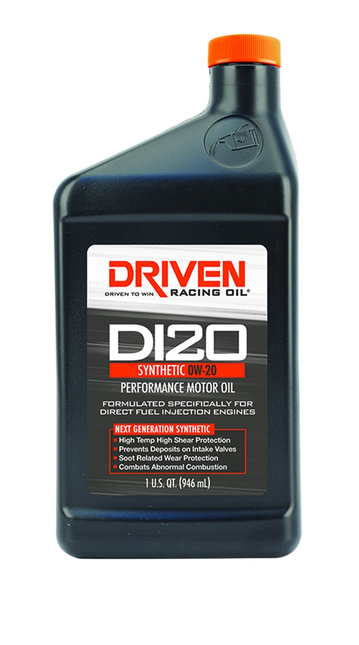 Driven Racing Oil DI20 Synthetic 0W-20 Direct Injection Engine Oil 18206