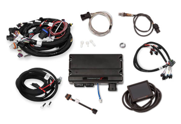 Holley Terminator X GM LS Standalone ECU & Wire Harness 550-904 -  on