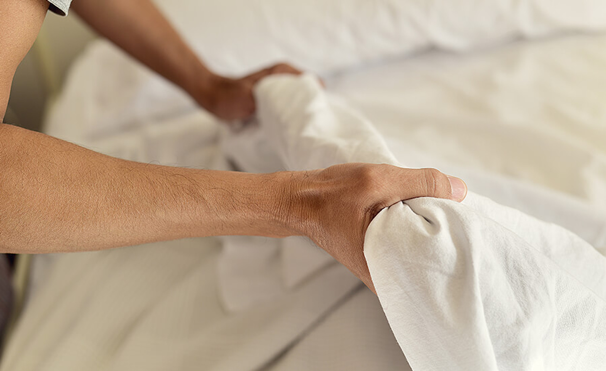 ​Preventing your white sheets from yellowing!