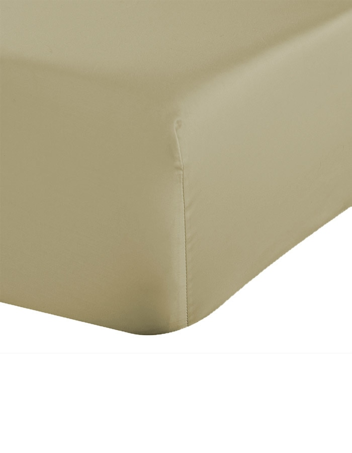 "Sable (medium tan) - 17"" Extra Deep Pocket fitted sheets, available in king, Cal - king. split king, full and queen sizes."