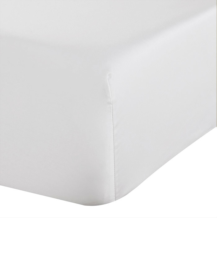 "White - Luxury Fitted Sheets. Super Soft, the finest, highest quality 100% Long Staple Cotton. 17"" Extra deep pocket Fitted Sheets"