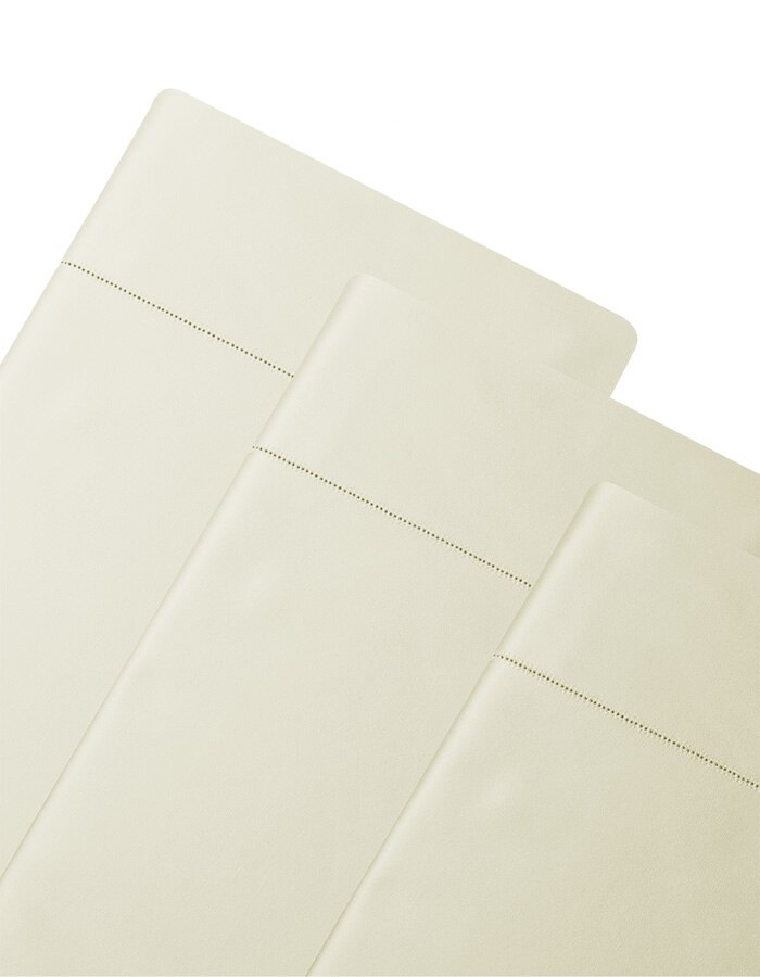 Ivory - Luxury Italian cotton Duvet Covers. Available in King & Queen sizes.