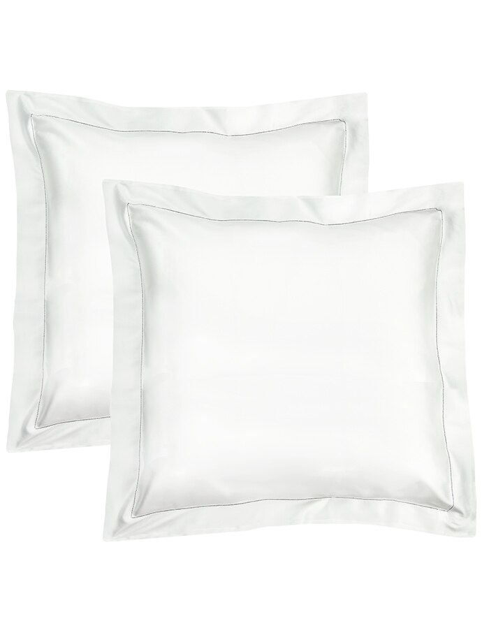 White - Italian Pillow Shams