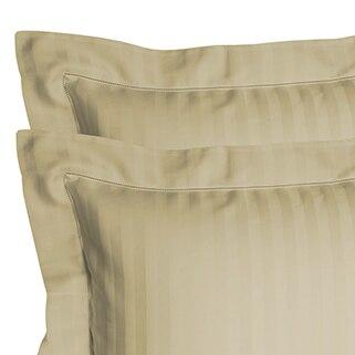 Our Sable Pillow Shams are a medium tan color.