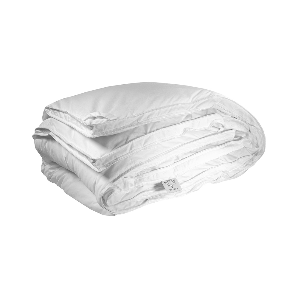 A baffle-box construction is a premium construction style and a baffle-box construction allows the down to loft to its fullest. The down will not shift from one compartment to another and does not have cold spots like other  style of our comforters.