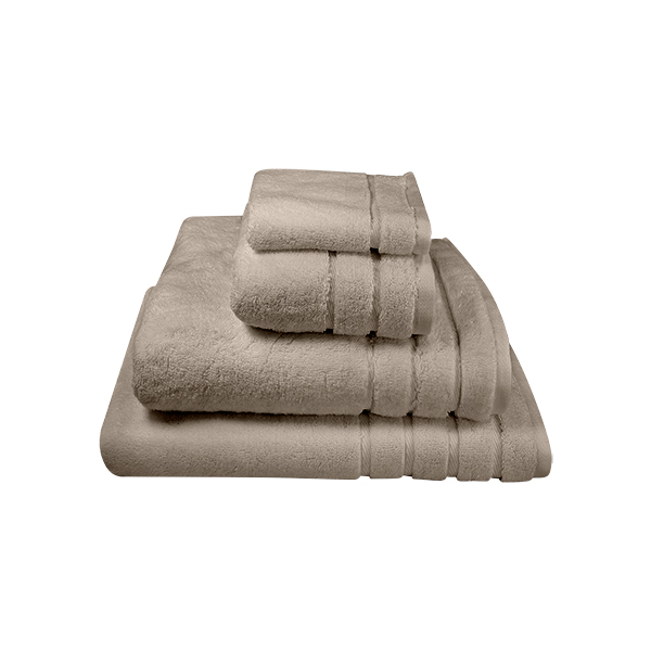 Generously sized and durable bath towels. Made in Turkey from the finest Turkish cotton. Shown here is our Granite towels.