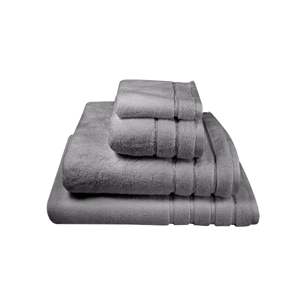 Available in White, Ivory, Stone & Pewter. Extra Long Terry loop for added absorbency. Shown here is our Pewter towels.
