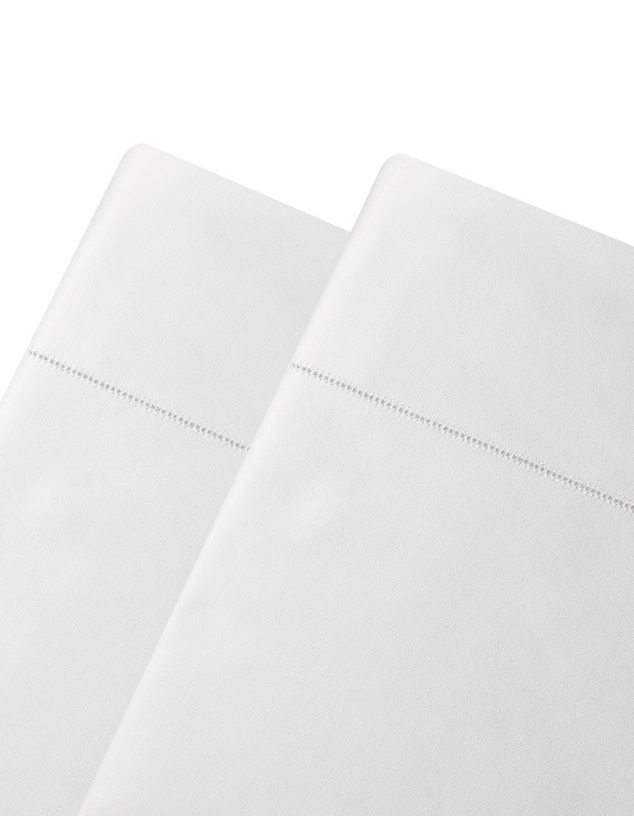 Serena Flat sheets are generously sized, finished with a classic and elegant hemstitch detail. Our Serena collection of linens are unmatched in hand, drape and price.