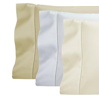 Luxury 600 thread count sateen pillowcases