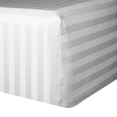 Extra deep Righetta fitted sheet.