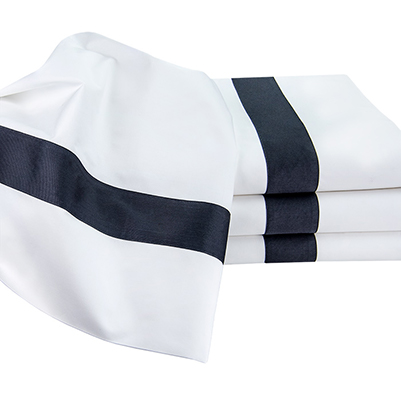 Ava Percale Flat sheets. Available in king & queen.