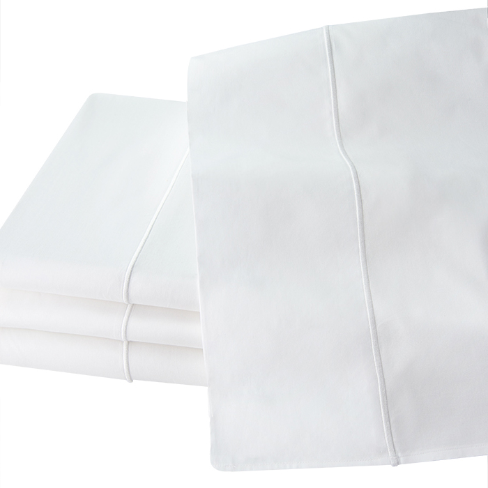 Luxury Olivia Italian Percale flat sheets