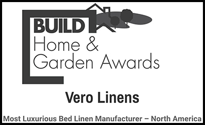 Vero Linens - awarded most luxurious linen mfg - north america
