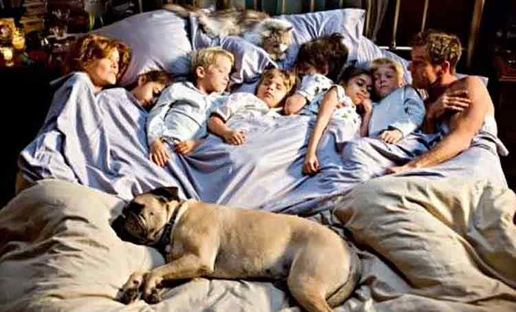For a better nights sleep kick the pets & kids out of bed