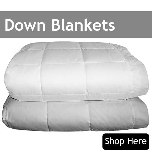 Luxury Down Blankets